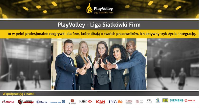Siatkówka, Jesienna edycja Siatkówki PlayVolley - zdjęcie, fotografia