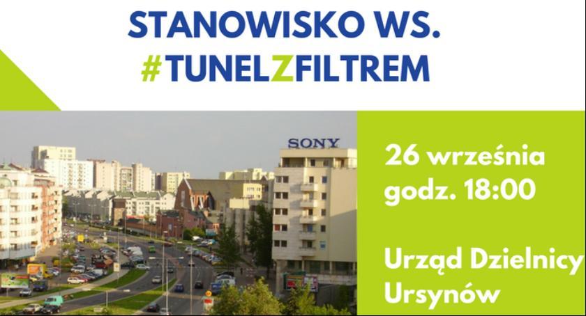 Inwestycje, Dzielnicy przyjmie stanowisko sprawie filtrów wyrzutniach spalin tunelu - zdjęcie, fotografia
