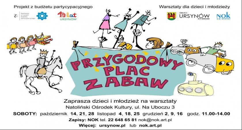 """Imprezy, Warsztaty """"Przygodowy zabaw"""" października - zdjęcie, fotografia"""
